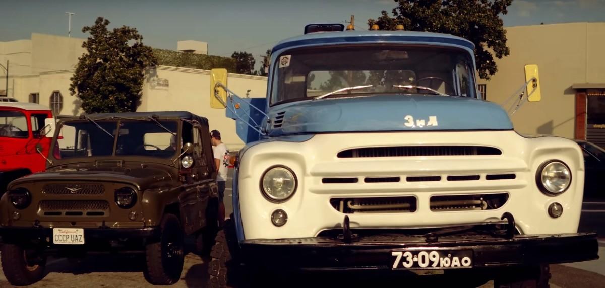 советские автомобили в америке