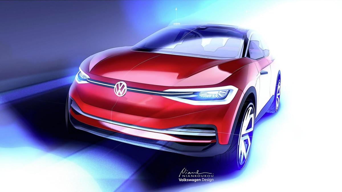 Volkswagen представит во Франкфурте новый электрокроссовер