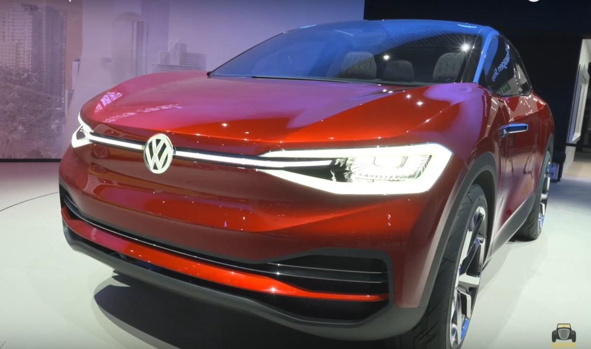 VW  познакомил с I. D. Crozz II