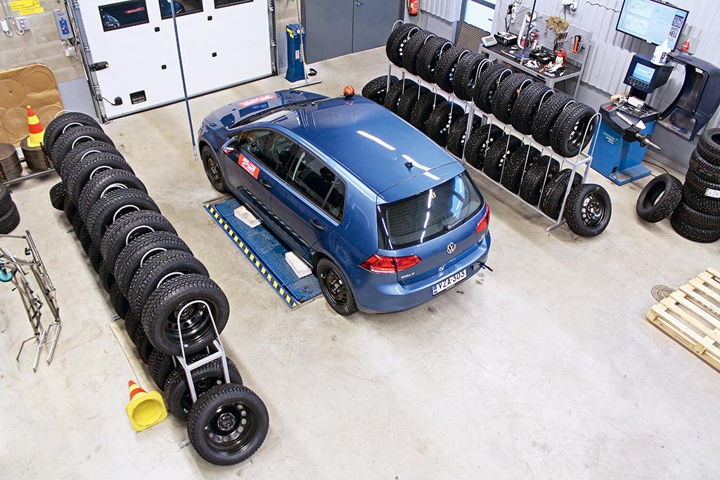 шипованные шины в размере 205/55R16