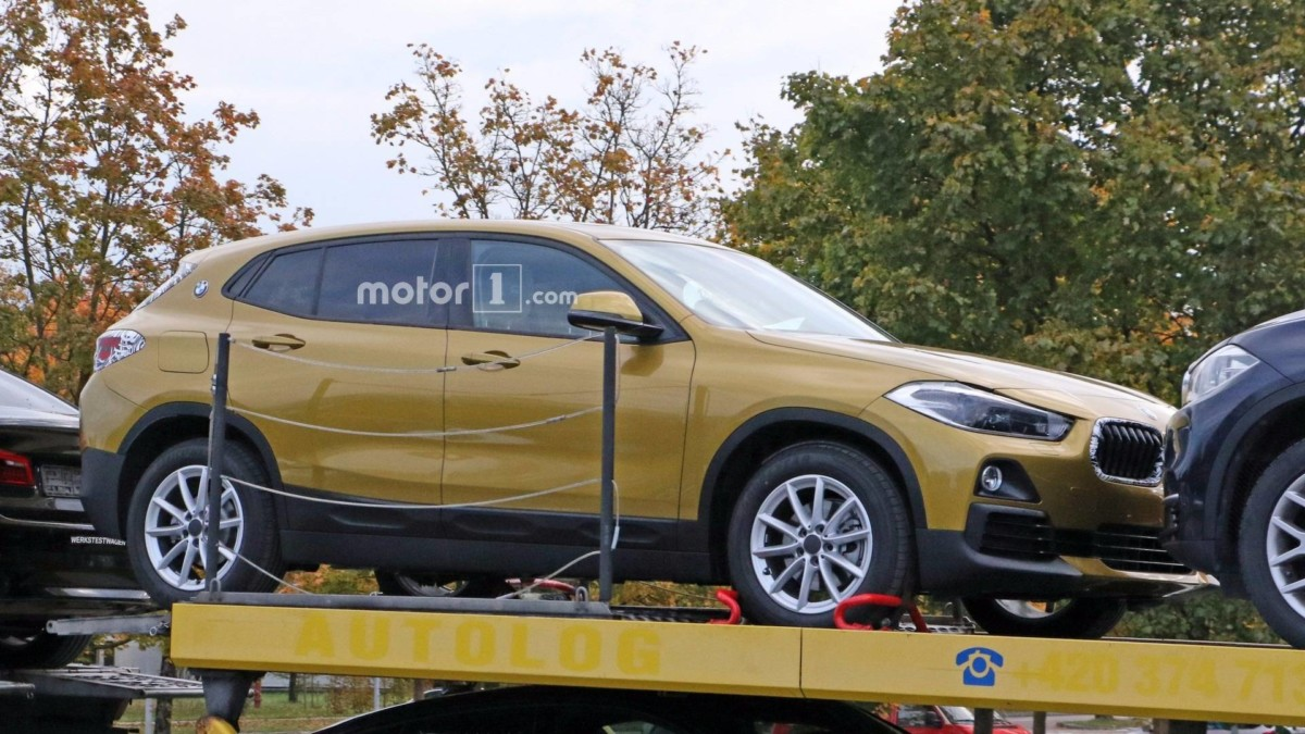 Новый BMW X2 2018 полностью рассекречен