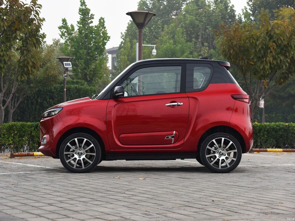 В Китае представлен бюджетный электромобиль по цене Ланоса