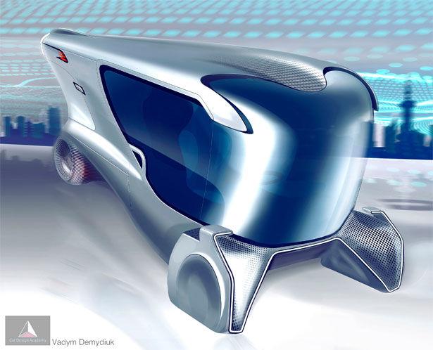 В Украине разработан электромобиль без аккумуляторной батареи