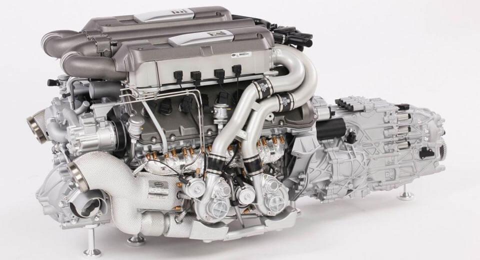 Мотор Bugatti Chiron вмасштабе 1:4 оценили почти в10 000 долларов