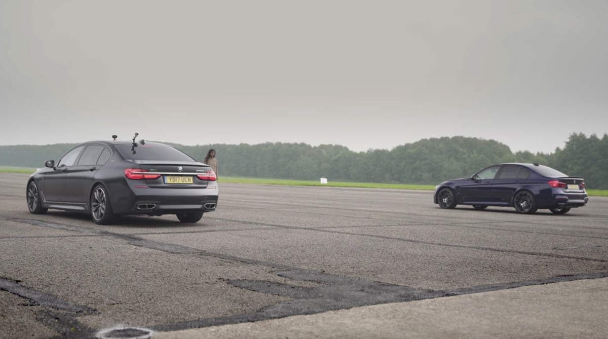 BMW M7 vs bmw m5