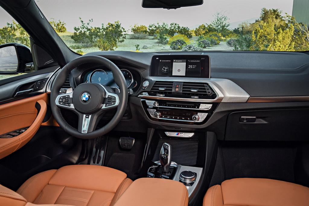 Салон BMW X3 2018