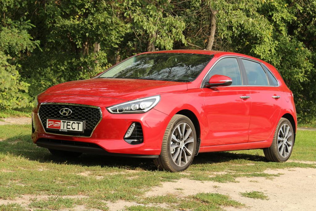 Внешность Hyundai i30 2017