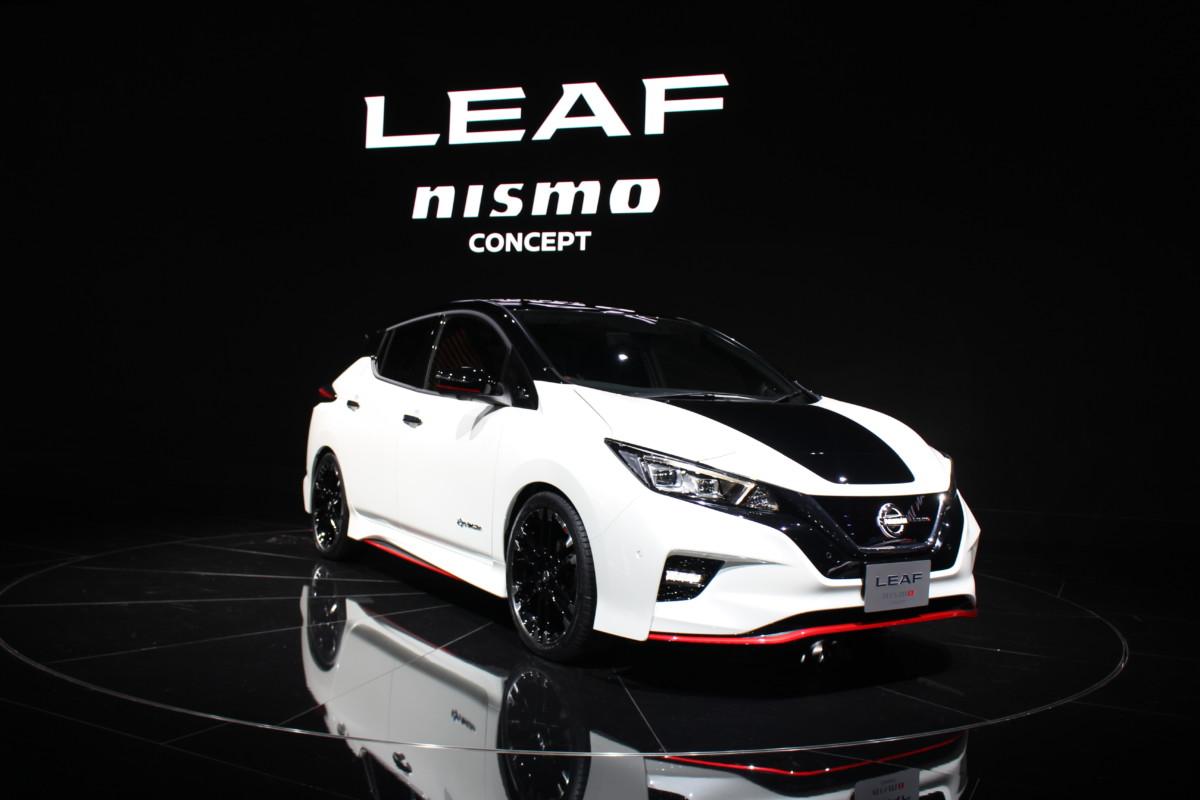 Nissan Leaf Nismo: эксклюзивные живые фото спортивного электрокара