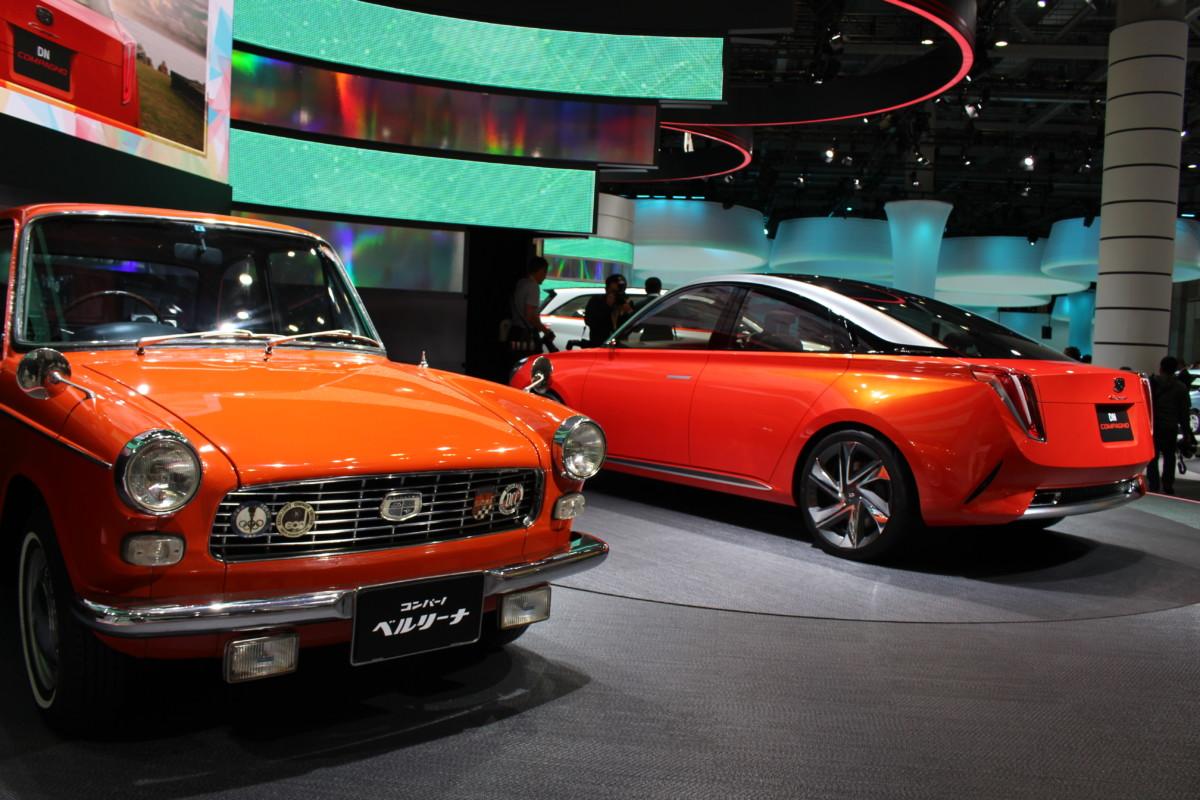 Токийский автосалон: Daihatsu показал яркое четырехдверное купе