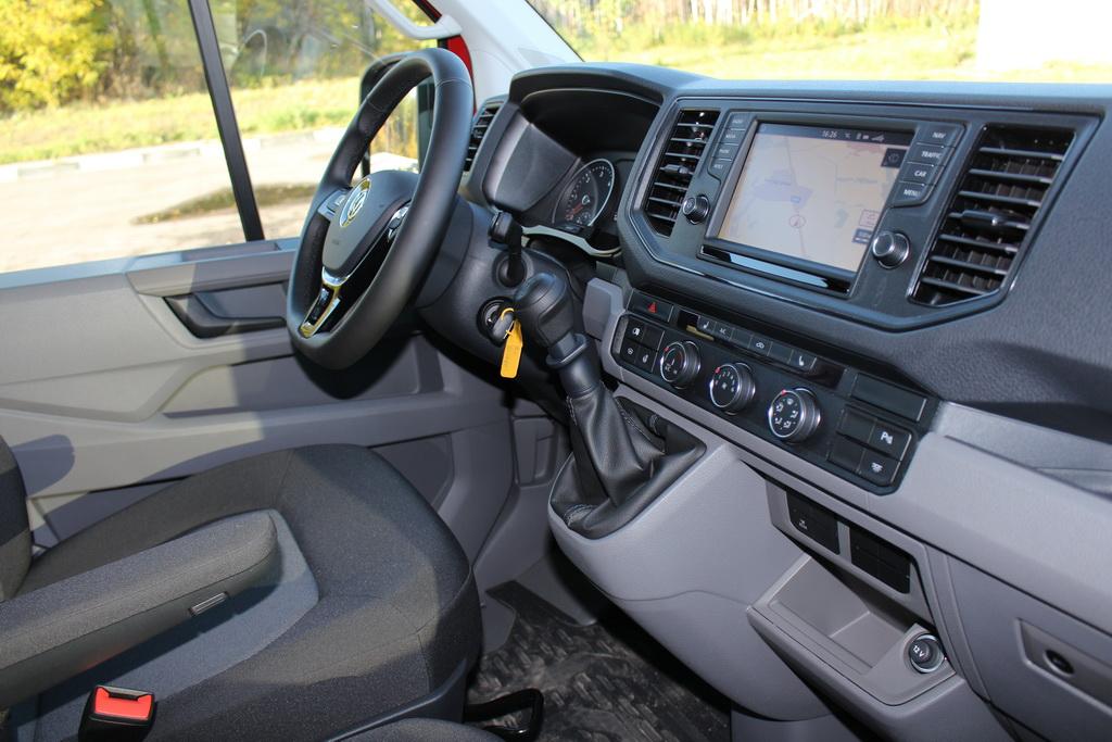 Интерьере Volkswagen Crafter 2017