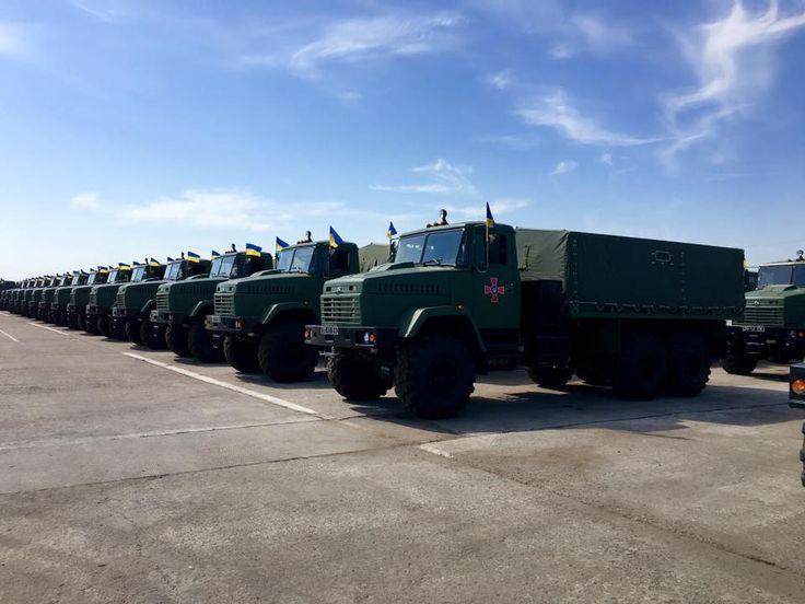 Вооруженные Силы в 2018 году получат 1000 единиц автотехники
