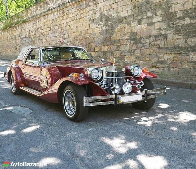 В Украине продается эксклюзивный автомобиль в стиле 30-х годов