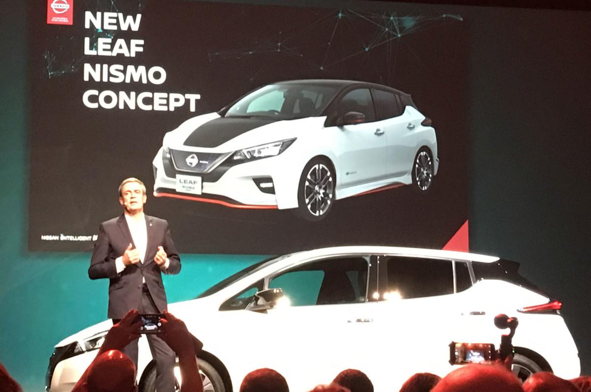 Ателье Nismo готовит тюнинг Nissan Leaf 2018