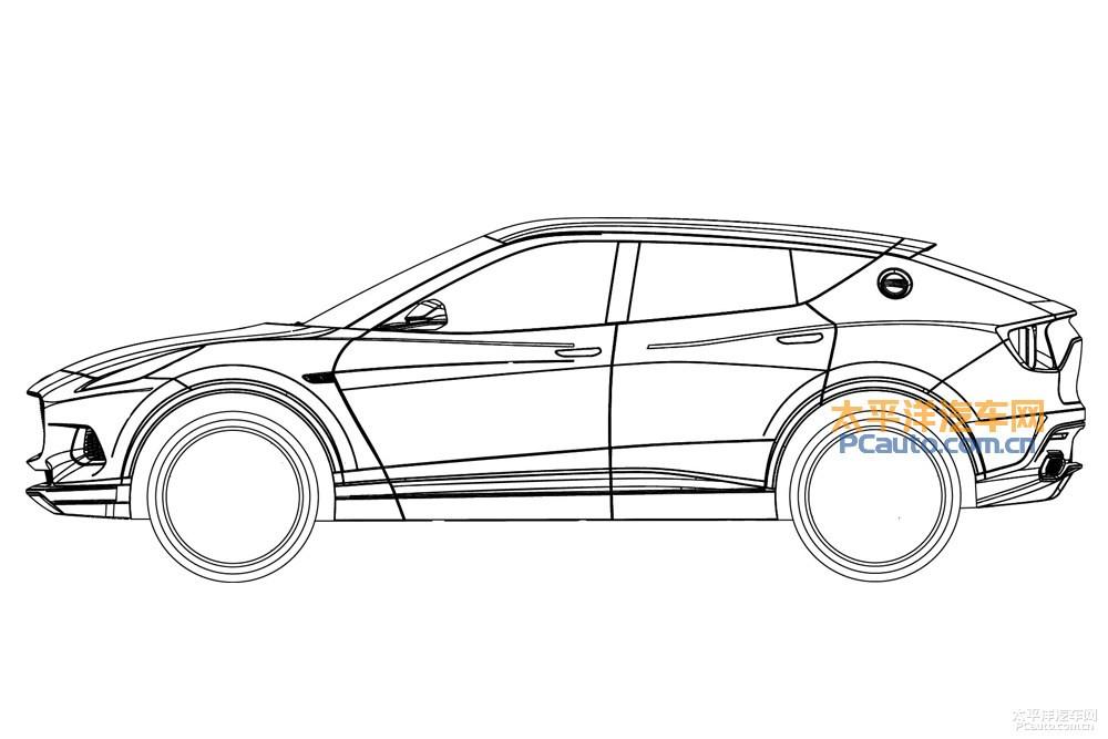 Первый кроссовер Lotus оказался похожим на Lamborghini Urus 2018