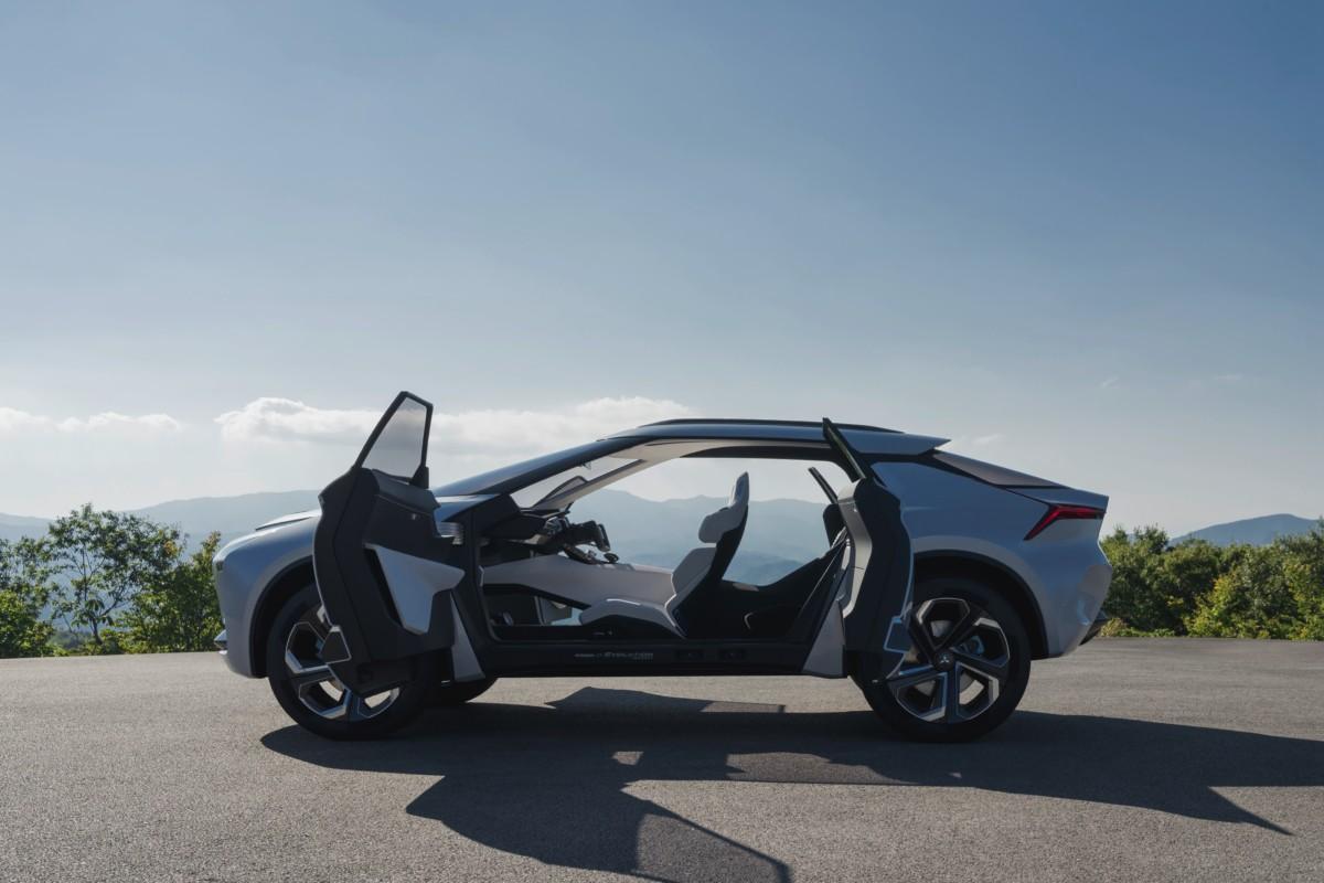 В Токио представлен концепт нового Mitsubishi Evolution