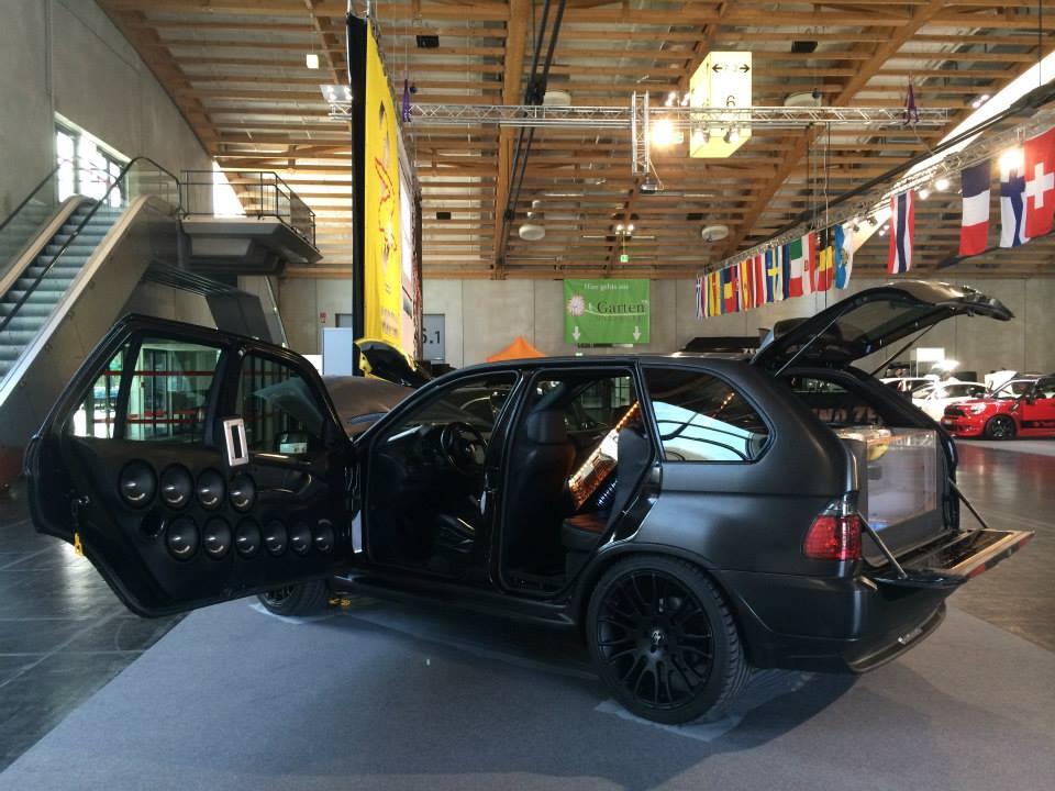 ВНорвегии создают шестиколёсный кроссовер БМВ X5