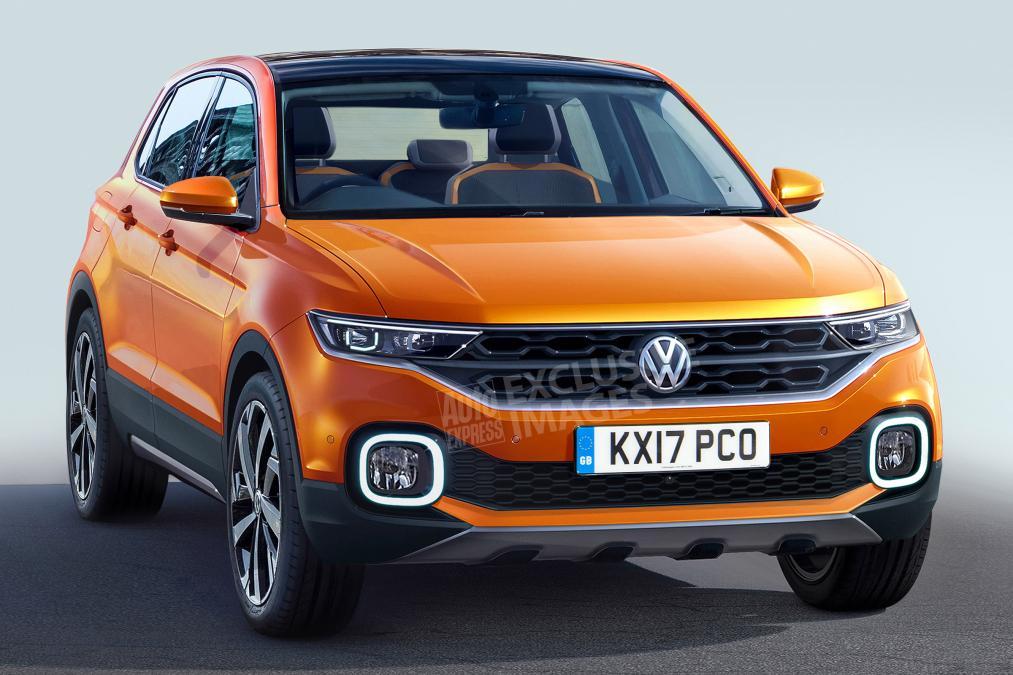 Volkswagen T-Cross: каким будет самый компактный кроссовер Фольксваген