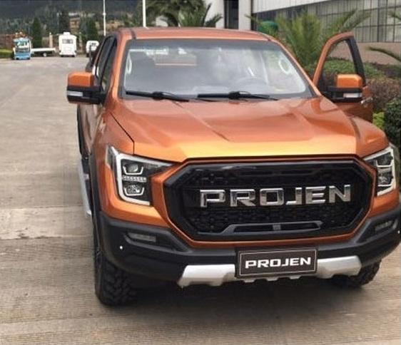 Lifan Projen: новый китайский пикап в стиле Ford F-150
