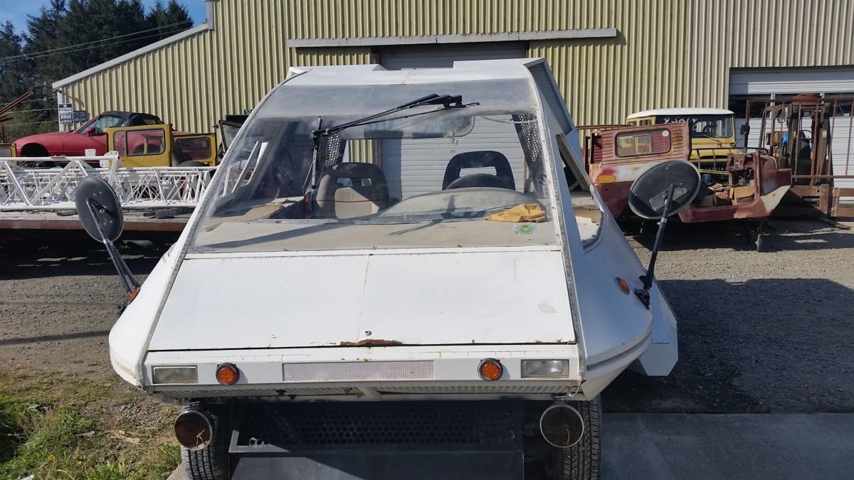 Обнаружен фантастический автомобиль из легендарного кинофильма