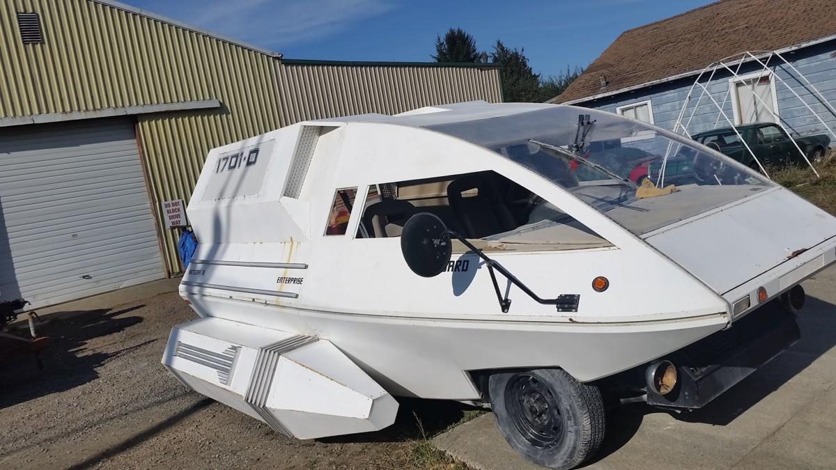 Shuttlecraft Golf Cart