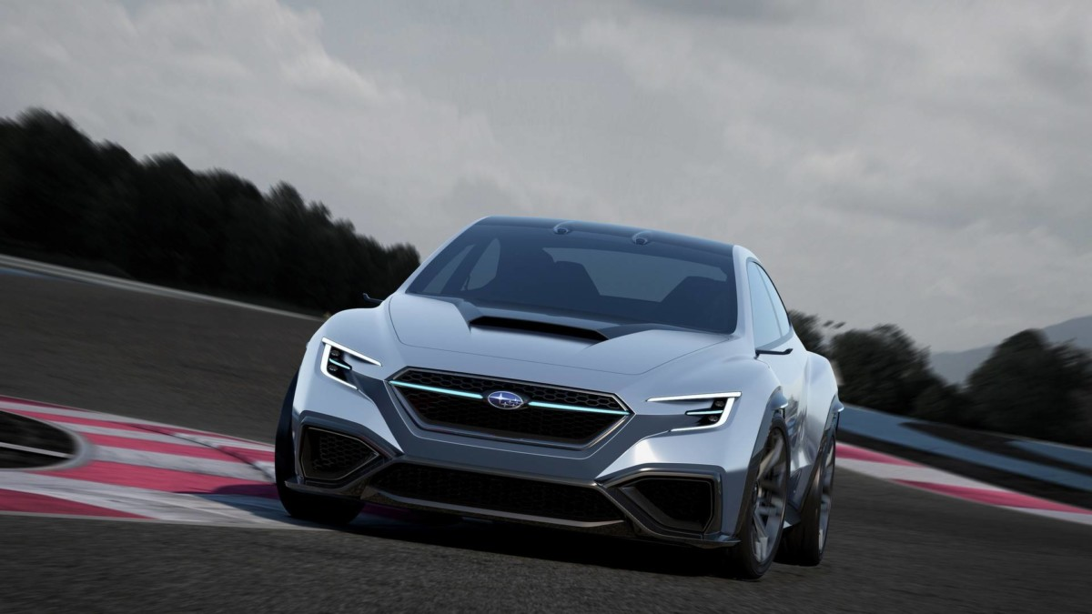 Токийский автосалон: представлен прототип новой Subaru STI