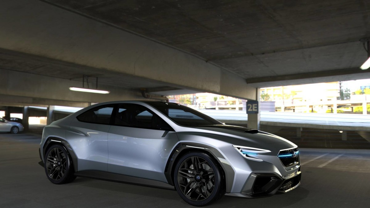 Новая Subaru WRX STI станет гибридом