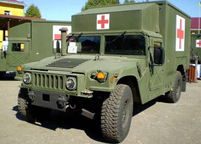 Humvee medical