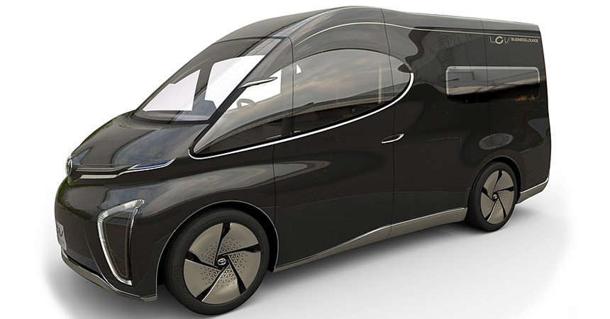 Тойота представила три минивэна будущего ичудо-капсулу