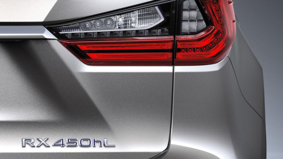 Семиместный кроссовер Lexus RX представят в этом месяце
