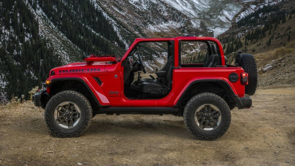 Первые официальные фото Jeep Wrangler 2018