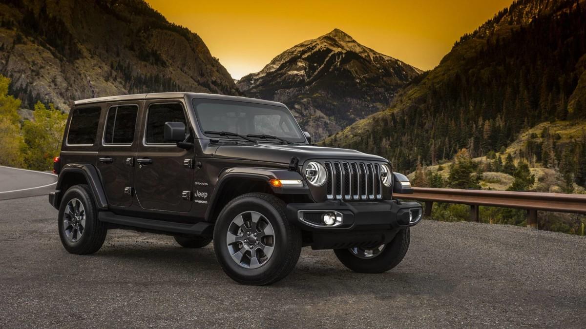 Объявлены цены на новый Jeep Wrangler в Украине