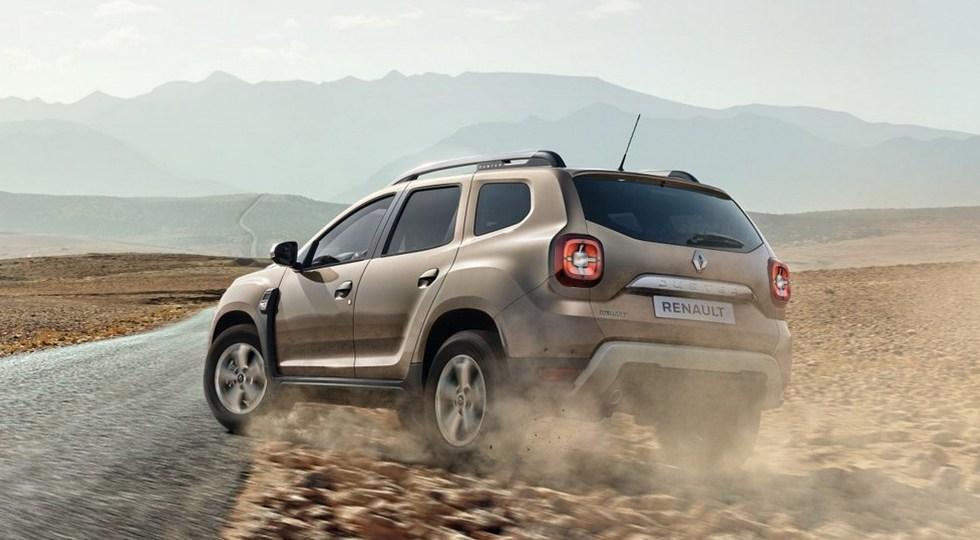 Renault Duster нового поколения засветился на официальных фото