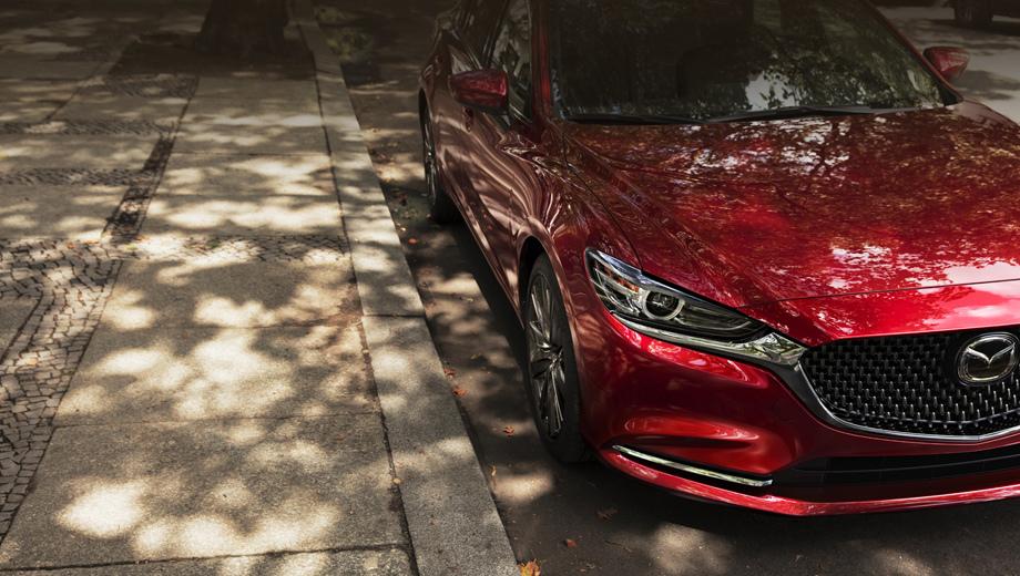 Первые фото Mazda 6 2018