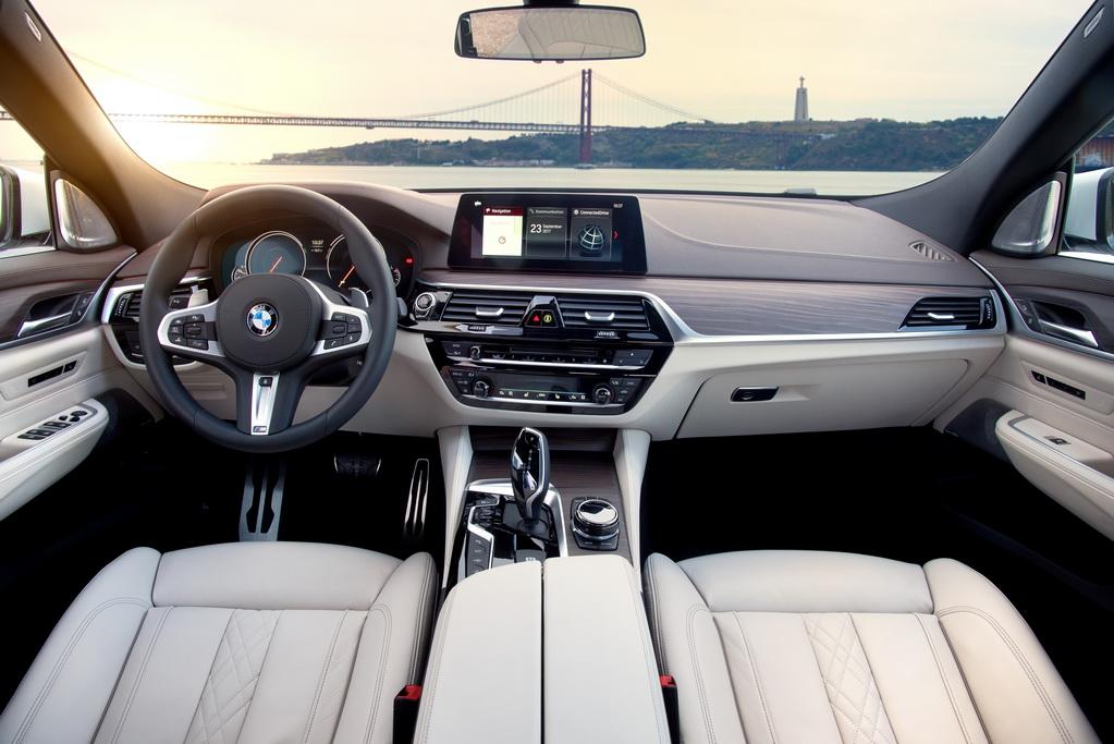 Интерьер BMW 6 Серии GT