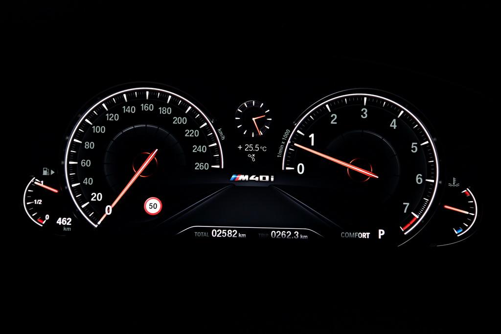 Приборы BMW X3 2018