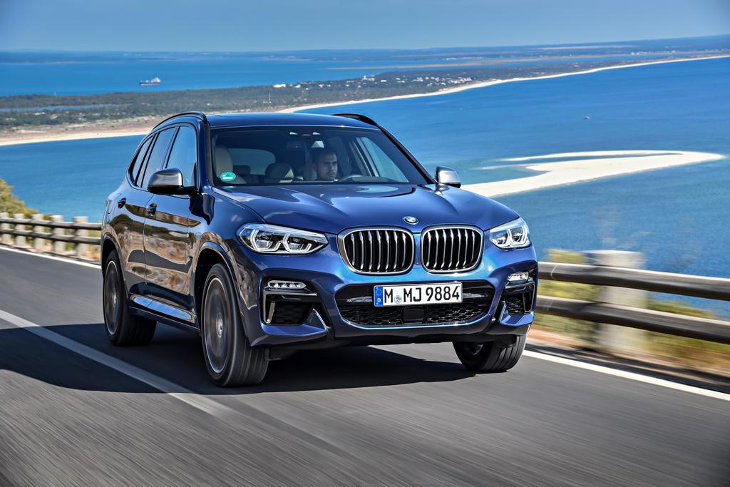 Новый BMW X3 2018