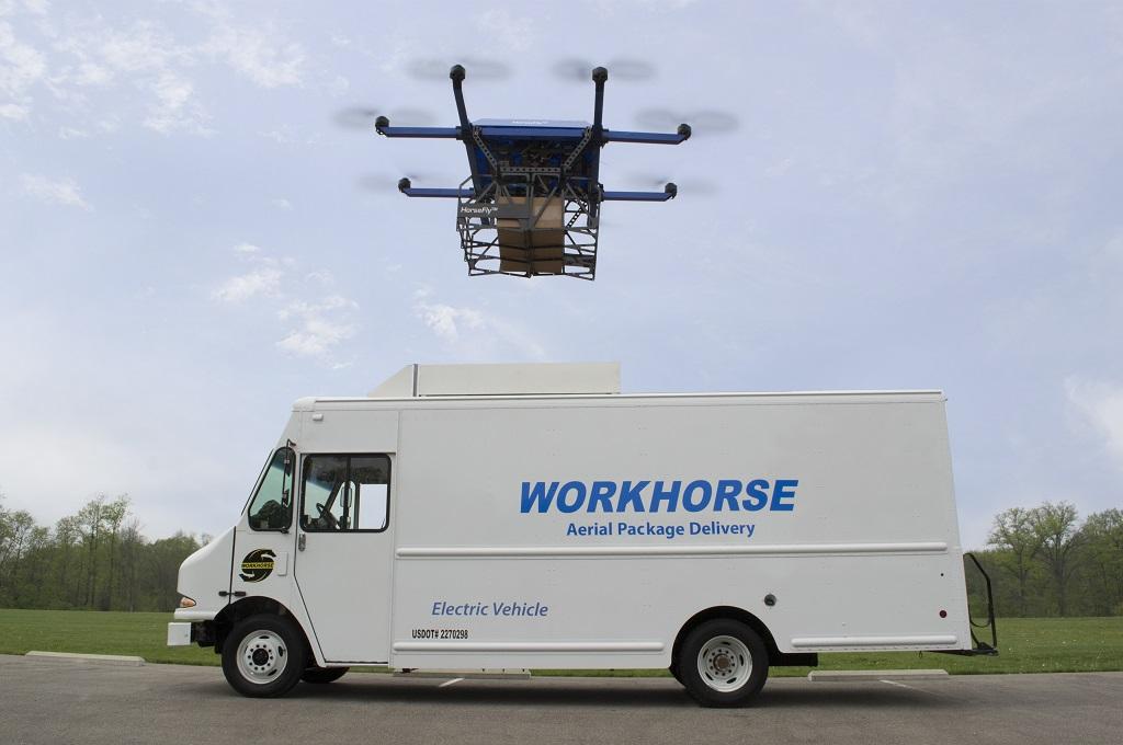 Workhorse продемонстрировал новый фургон доставки «додвери»