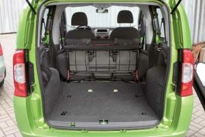 Fiat Qubo багажник