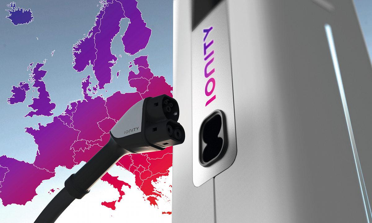 BMW, Ford и Volkswagen создадут сеть из400 зарядных станций для электромобилей