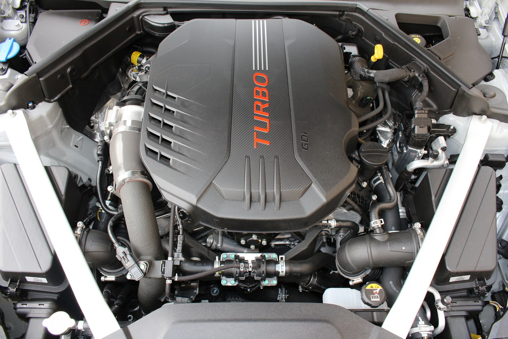 Мотор Kia Stinger 2017