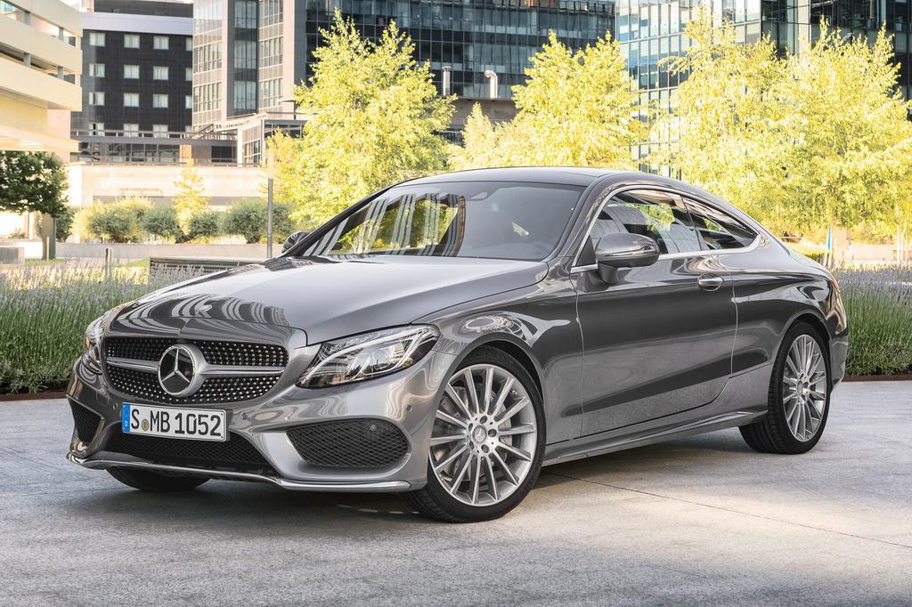 Mercedes-Benz C300 Coupe & Infiniti Q60