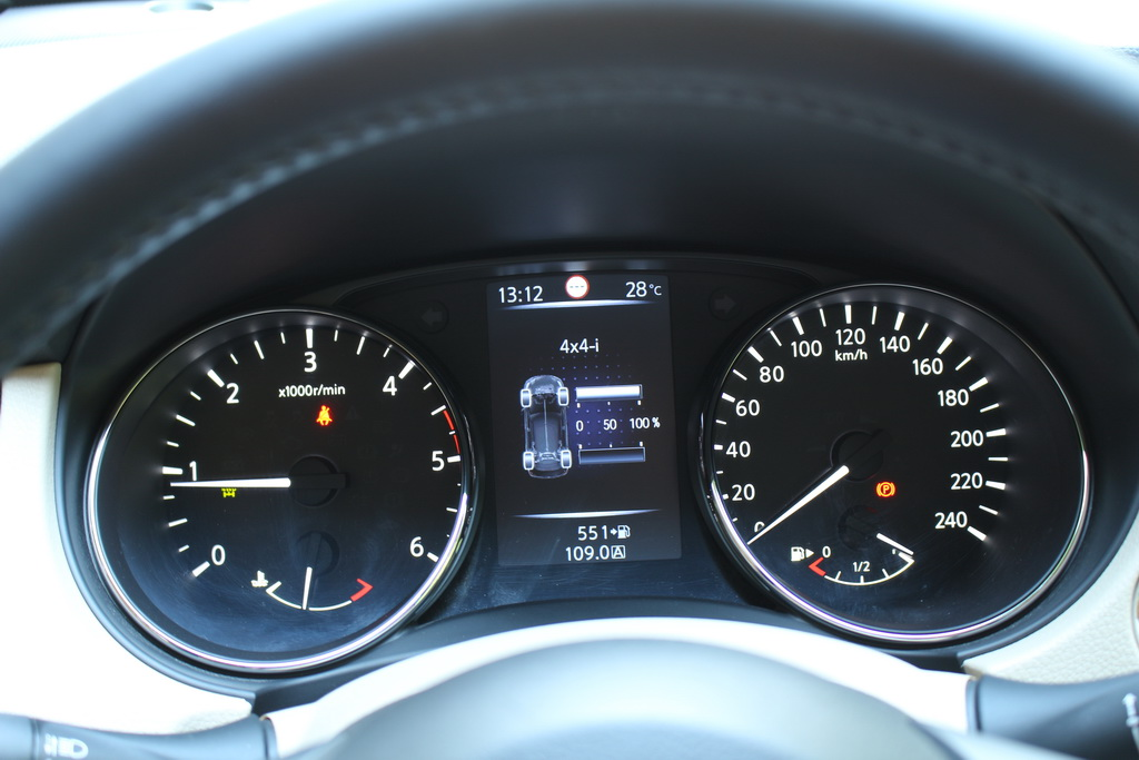 Полный привод Nissan X-Trail 2017
