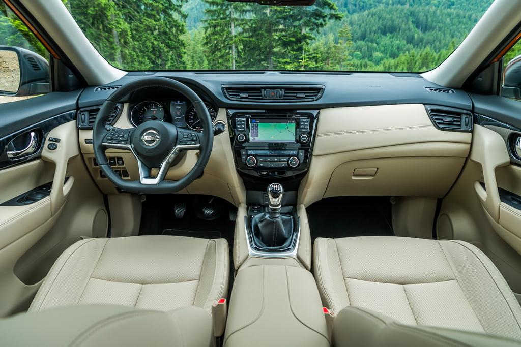 Интерьер Nissan X-Trail 2017