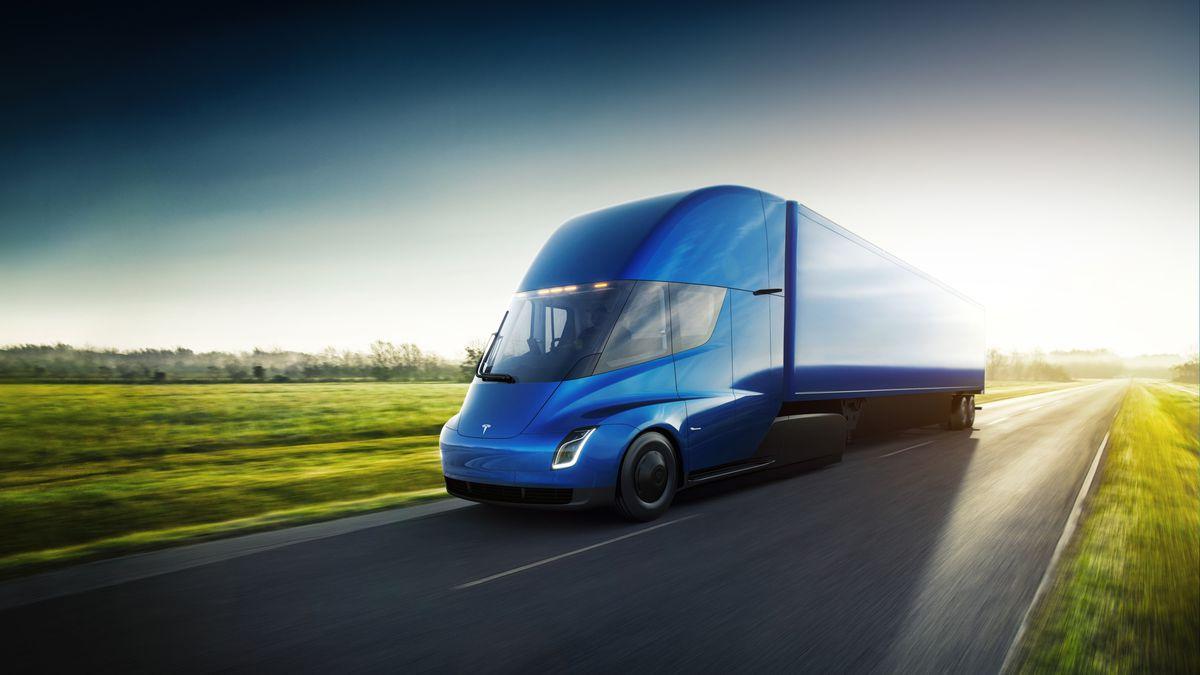 Объявлена цена электрического грузовика Tesla Semi