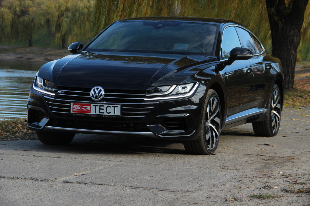 Внешность Volkswagen Arteon 2017