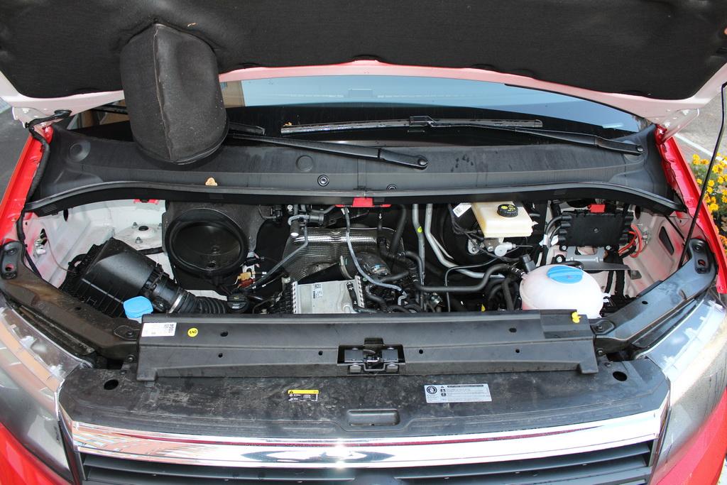 Мотор Volkswagen Crafter 2017
