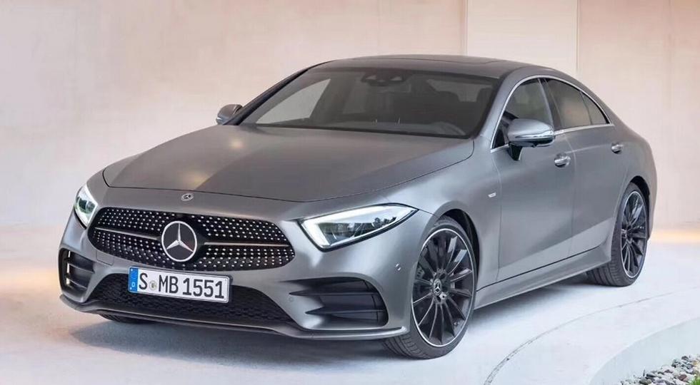Новый Mercedes-Benz CLS 2018 рассекречен до премьеры