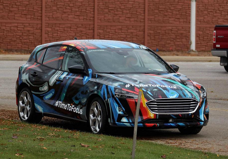 Новый Ford Focus 2018 засняли во время тестов