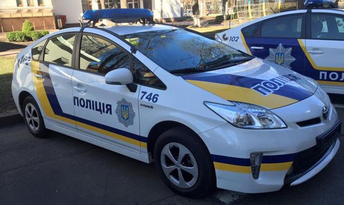 полицейский приус