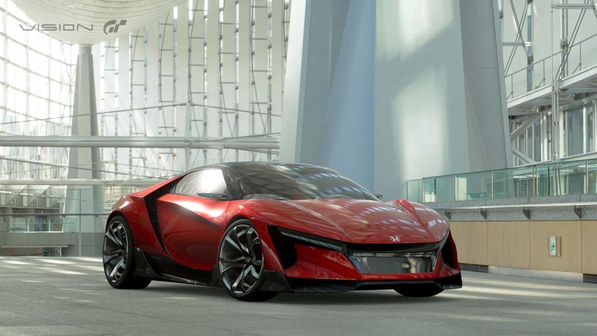 Представлен концепт новой Honda S2000